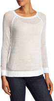 Soft Joie Quain Sheer Knit Pullover