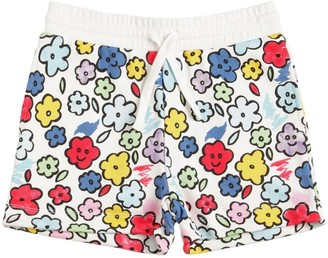Stella McCartney ALL OVER PRINT SWEAT SHORTS