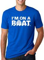 Crazy Dog T-shirts Crazy Dog Tshirts I'm On A Boat T Shirt Funny Cruise Ship Boating Tee