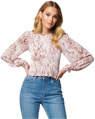 Forever New Petite Molly Petite Shirred Crop