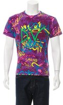 Versace Graphic Print T-Shirt w/ Tags