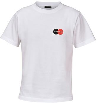 Balenciaga Small fit T-shirt with logo