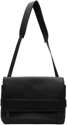 Bottega Veneta Black Marco Polo Messenger Bag