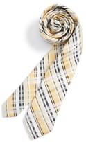 Nordstrom Boy's Plaid Cotton & Silk Tie