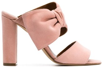 Paris Texas Bow Detail Sandals