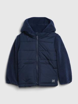 Gap Toddler Sherpa 3-In-1 Jacket