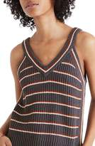 Madewell Stockton Stripe Sweater Tank