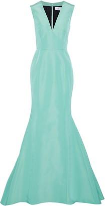 J. Mendel J.mendel Fluted Silk-faille Gown
