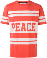 Paul Smith peace print T-shirt - men - Cotton - XS