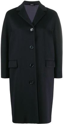 Aspesi Single Breasted Mid-Length Coat