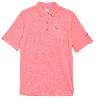 Callaway Golf Opti-Soft UPF 50 Heathered Polo