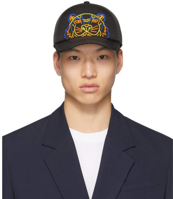 4e41c4fc Kenzo Black Men's Hats - ShopStyle