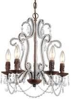 AF Lighting Beloved Five Light Mini Chandelier