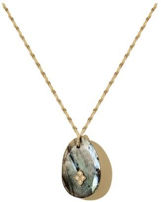 Pascale Monvoisin Gaia N2 Necklace Labradorite