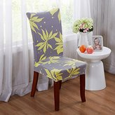 Yiwant Super Fit Stretch Removable Washable Short Dining Chair Cover Protector Seat Slipcover for Hotel,Dining Room,Ceremony,etc - Style -27