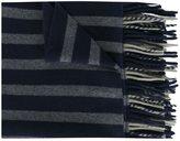 Odeeh striped knit scarf