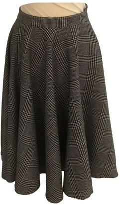 MSGM Grey Skirt for Women
