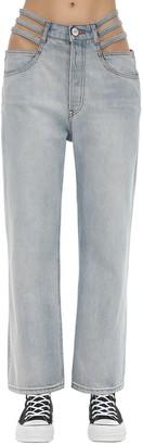 3x1 Willow Cutout Cotton Denim Jeans