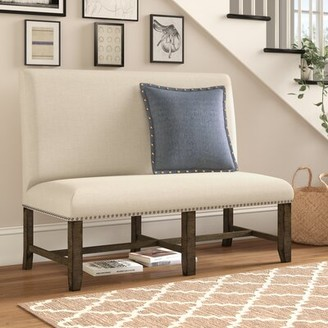 Three Posts Melstone Upholstered Bench