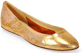 Kate Spade Kat - Copper Leather Flat