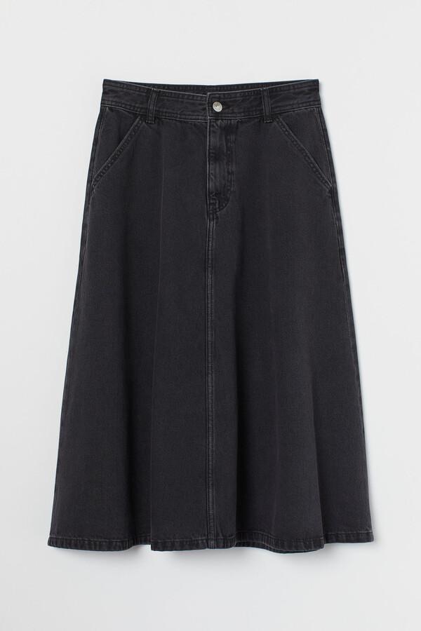 Thumbnail for your product : H&M Knee-length denim skirt