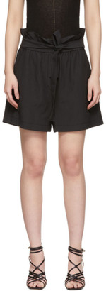 3.1 Phillip Lim Black Paperbag Shorts