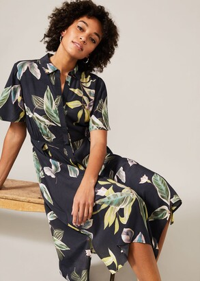 Phase Eight Hermy Floral Shirt Dress