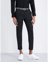 Lanvin Tapered Wool-blend Trousers