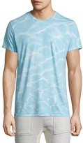 Sol Angeles Oasis Printed Short-Sleeve T-Shirt, Light Blue