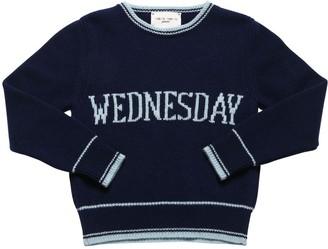 Alberta Ferretti Cashmere & Wool Jacquard Knit Sweater