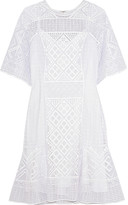 Temperley London Crochet-knit mini dress
