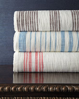 John Robshaw Queen Striped Coverlet