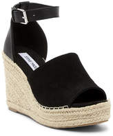 Steve Madden Julian Ankle Strap Wedge Platform Sandal
