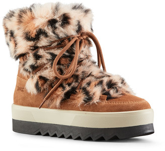Cougar Vanity Polar Plush Suede Winter Booties