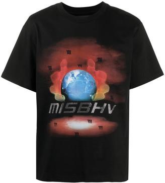 Misbhv logo print T-shirt