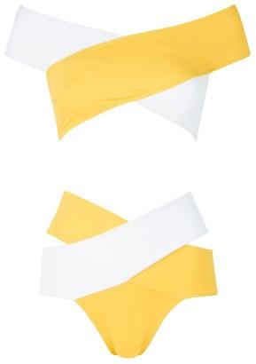 Oye Swimwear Lucette Colour-Block Bikini