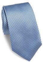 HUGO BOSS Diamond Patterned Silk Tie
