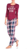 Hello Kitty Two-Piece What Fun Pajama Set