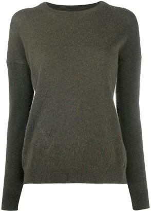 Zadig & Voltaire Pointelle-Embellished Cashmere Jumper