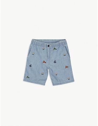 Ralph Lauren Nautical cotton shorts 8-12 years