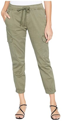 Sanctuary Squad Crop Joggers (Fatigue) Women's Casual Pants