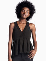 Lucky Brand Lace Trim Tank