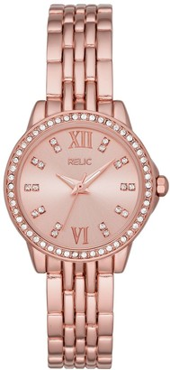 Relic By Fossil Women's Sydney Crystal Accent Watch