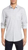 Billy Reid Men's John T Standard Fit Windowpane Sport Shirt