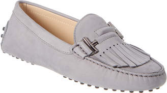 Tod's TodS Gommino Fringe Leather Loafer
