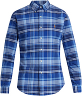 Polo Ralph Lauren Slim-fit checked cotton shirt