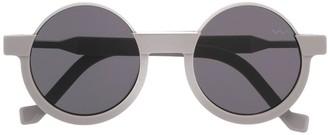 Va Va Tinted Round-Frame Sunglasses