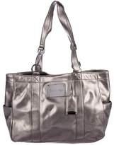 Calvin Klein Metallic Leather Tote