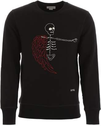 Alexander McQueen Skeleton Sweatshirt