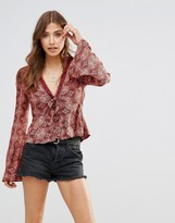 Free People Time Of Your Life Top